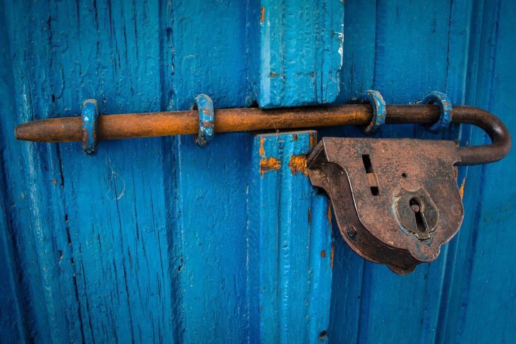 Slot op de deur
